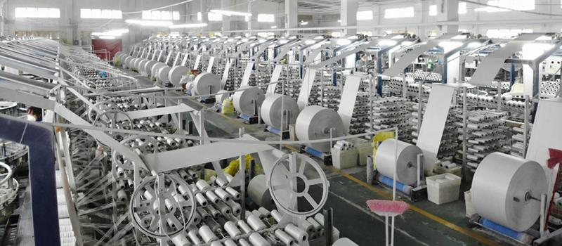 PP Fabric Weaving | Woven Bags and Sacks | Xinlong Packaging